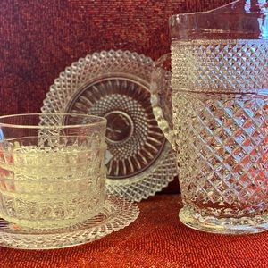 Other - Crystal serveware lot